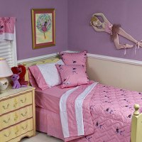 Dance On 4 Piece Toddler Bedding Set - Pink