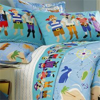 Pirates Queen Comforter / Sheet Set