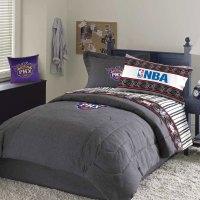 Phoenix Suns Team Denim Twin Size NBA Comforter / Sheet Set