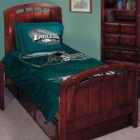 "Philadelphia Eagles NFL Twin Comforter Set 63"" x 86"""