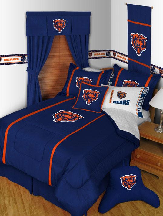 chicago bears mvp shower curtain