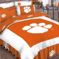 Clemson Tigers Twin Comforter Set