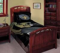 """New Orleans Saints NFL Twin Comforter Set 63"""" x 86"""""""