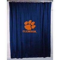 Clemson Tigers Locker Room Shower Curtain