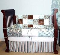 Rhinestone Cowgirl Paisley Four Piece Crib Set