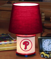 Philadelphia Phillies MLB Accent Table Lamp
