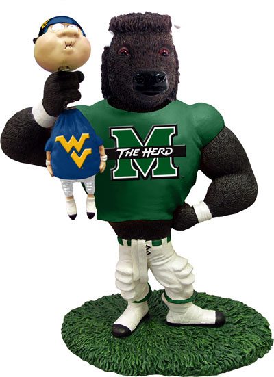 toddler table chairs trip trap chair marshall ncaa college rivalry mascot figurine