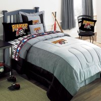 Pittsburgh Pirates MLB Authentic Team Jersey Bedding Full