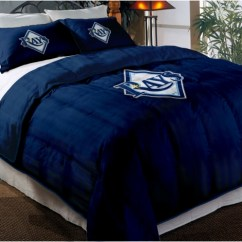 Teen Room Chairs High Stool Tampa Bay Rays Mlb Twin Chenille Embroidered Comforter Set With 2 Shams 64