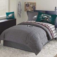 Philadelphia Eagles NFL Team Denim Full Comforter / Sheet Set