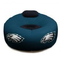 Philadelphia Eagles NFL Vinyl Inflatable Chair w/ faux ...