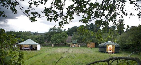 glamping-yurt
