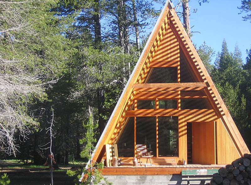 a-frame-cabins-glamping-usa