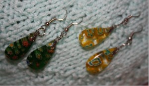 Competition earrings