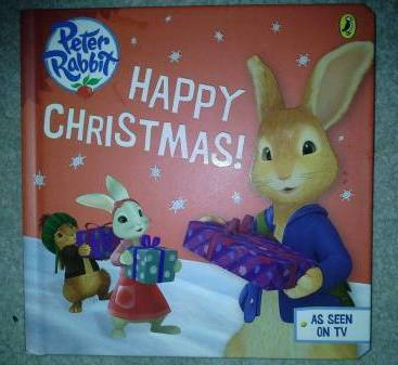 CBeebies Peter Rabbit Happy Christmas Book Review