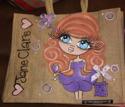 Family Clan Blog Clareabella Jute Bag toxicfox