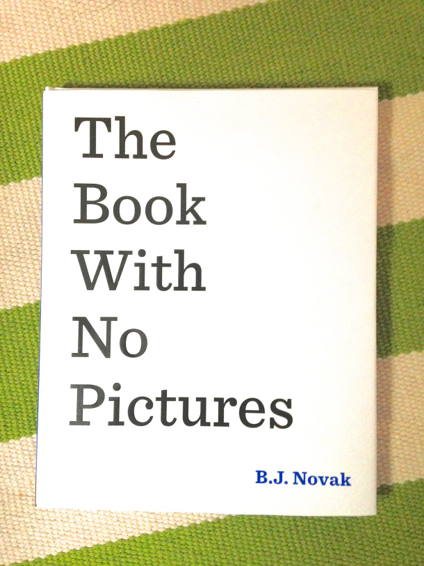 Family Clan Blog Review & Giveaway The Book with No Pictures