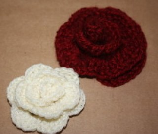 Family Clan Blog Crochet Roses