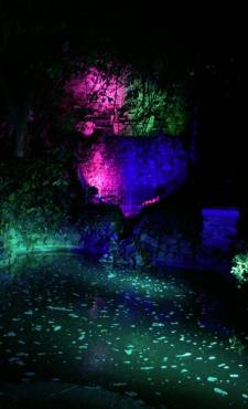 Sunderland Illuminations 2015 Family Clan Blog Light Waterfall