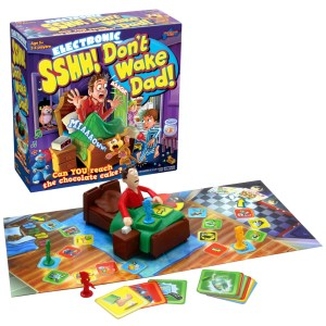 Giveaway: Win Sshh Don't Wake Dad Board Game Drumond Park