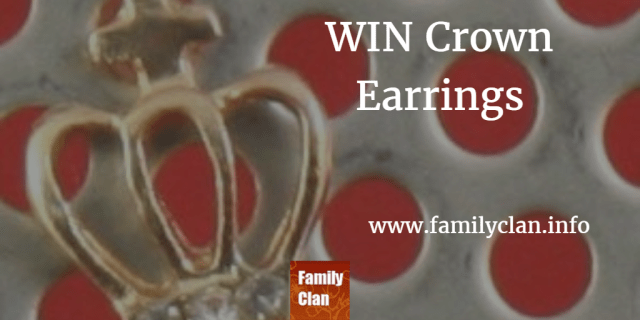 Win Crown Earrings
