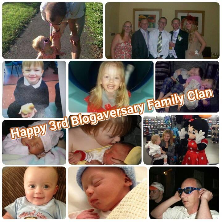 Happy 3rd Blogaversary Family Clan