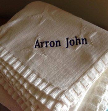 Arron John Named Blanket Family Clan Blog