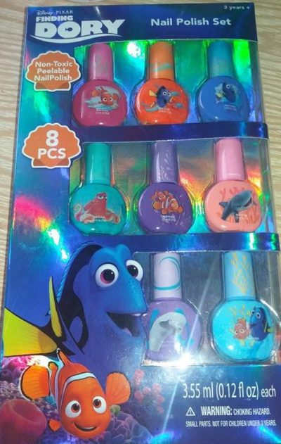 Finding Dory Nail Polish Set Review Family Clan Blog