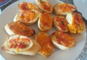 Garlic Bread Mini Pizza Family Clan Blog