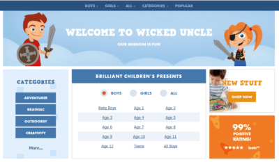 Wicked Uncle Family Clan Blog