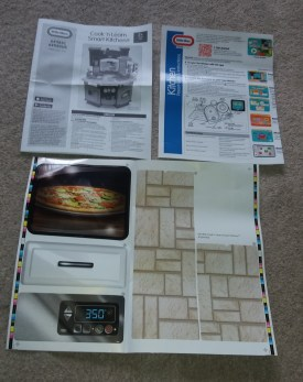 Little Tikes Cook 'n Learn kitchen instructions