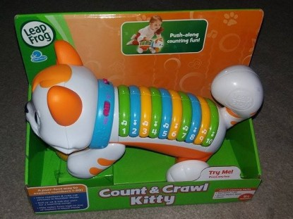 Count & Crawl Kitty Leap Frog Family Clan