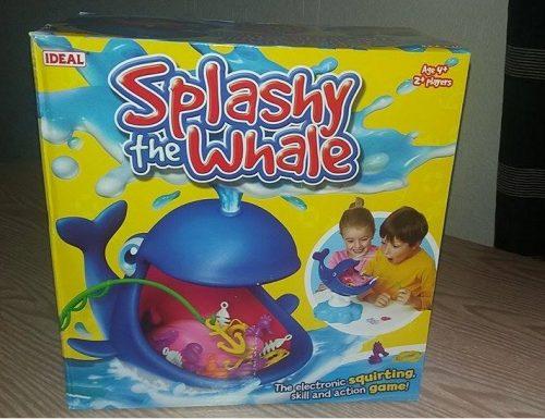 Family Clan Blog Splashy the Whale John Adams