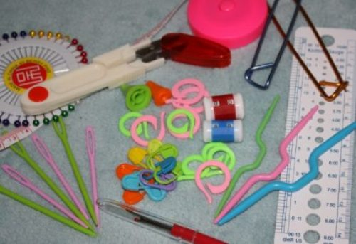 90 Piece Crochet Knitting Set Family Clan Blog
