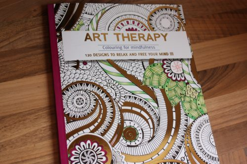 Art Therapy Adult colouring book giveaway Family Clan Blogaversary