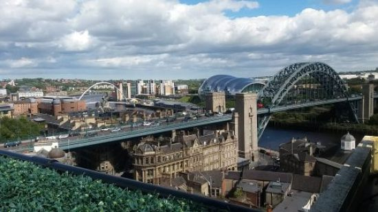 View of Newcastle from Rooftop Family Clan Blog