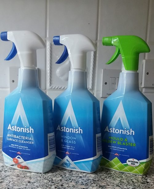 Astonish Cleaning Products review by Family Clan