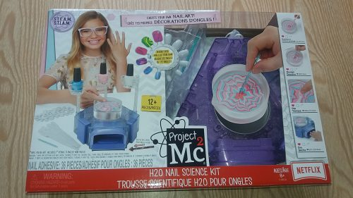 Project MC2 H2O Nail Science Kit Family Clan Review