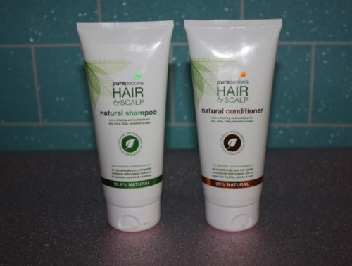 Pure Potions Natural shampoo & Conditioner Family Clan