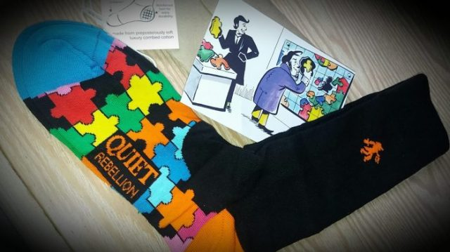 Quiet Rebellion Socks - Family Clan Review