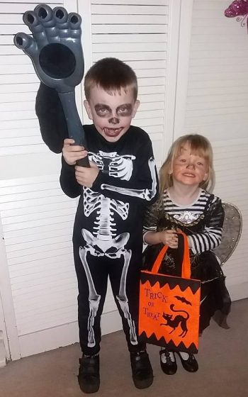 Jake Grace Halloween October 2017 Family Clan