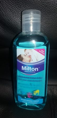 Milton antibacterial Surface Wipes and Hand Gel Review Family Clan