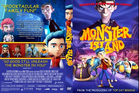 Monster Island DVD Cover