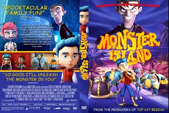 Monster Island DVD Cover