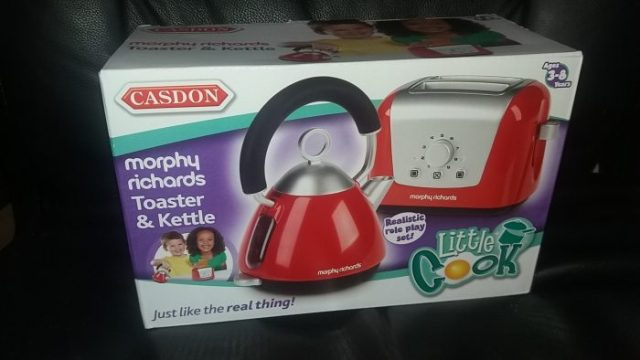CASDON Morphy Richards Kettle and Toaster Family Clan Review
