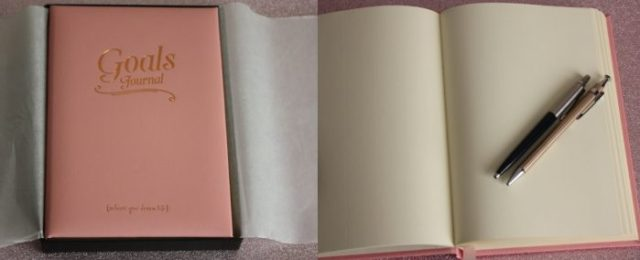 Pink Leather Journal Find Me A Gift Family Clan