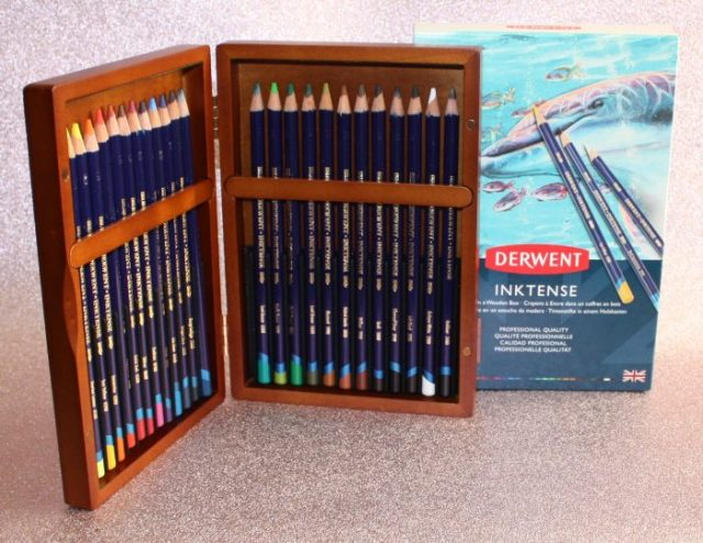 Derwent Inktense Pencil Crayons Family Clan