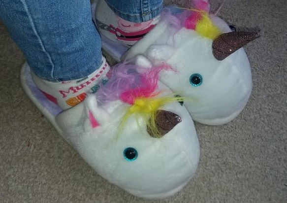 Find me a gift Unicorn Slippers