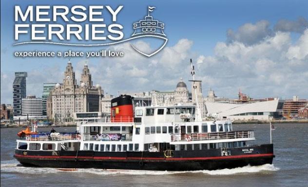 Mersey Ferries Logo Cruise