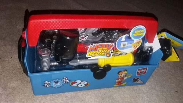 Mickey Roaster Racers Pit Crew Toolbox Review Mickey Mouse Family Clan